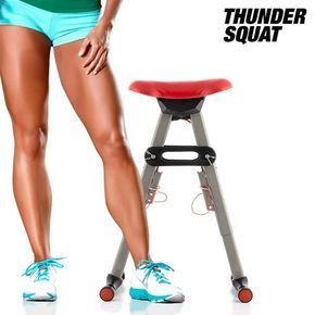 THUNDER SQUAT funcional Máquinas de ejercicios El ejercicio y entrenar a los muslos, las nalgas y los gemelos!