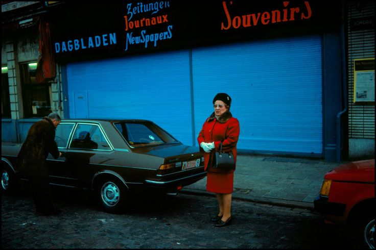 Antwerp, Belgium, 1992Photographer Harry Gruyaert(via Magnum Photos)