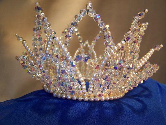 Vintage Bridal Crown Tiara from 1964 by spedus on Etsy, $225.00