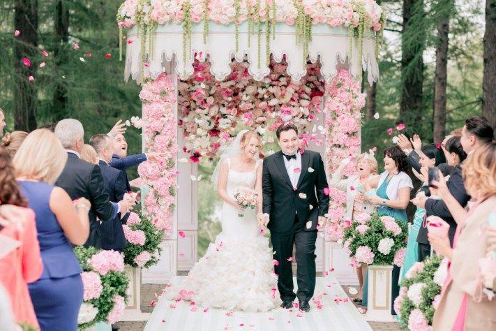 Французский шарм: свадьба Полины и Алексея