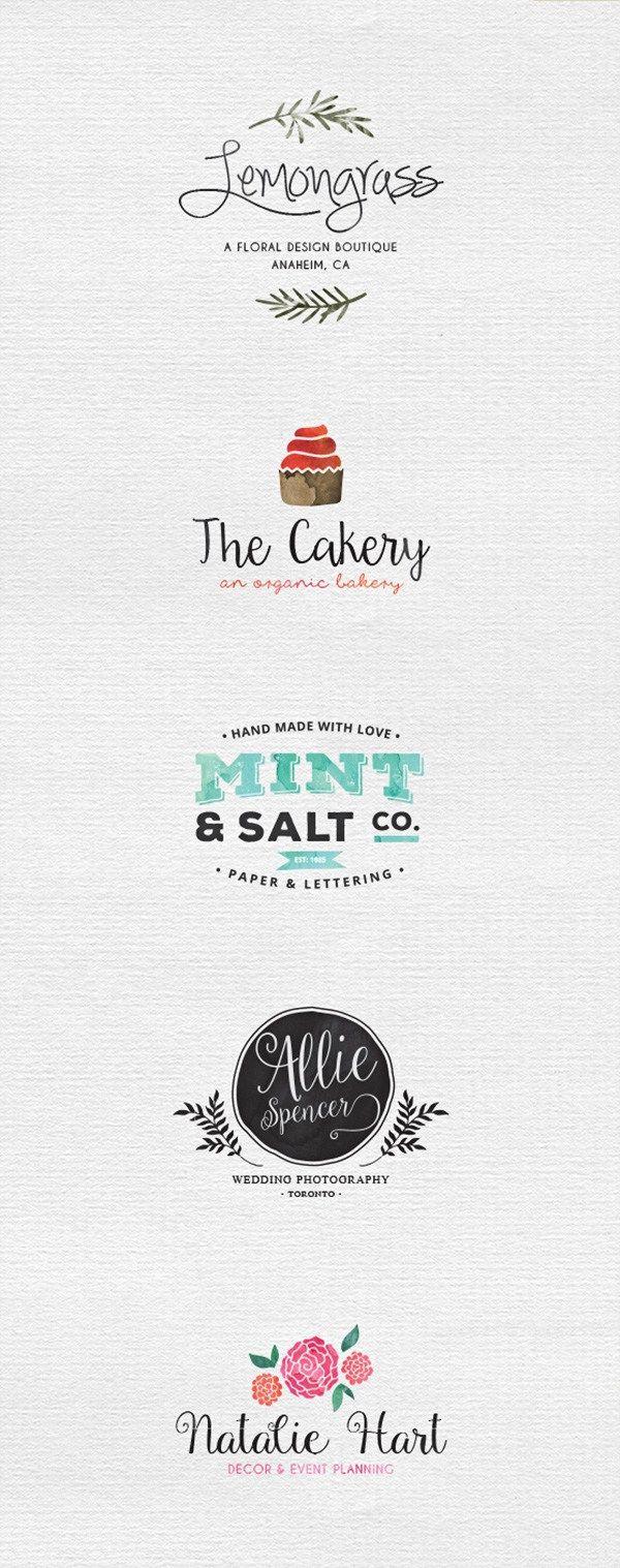 107 best Bakery Logos images on Pinterest   Business cards, Lipsense ...