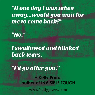 Quote from INVISIBLE TOUCH (multicultural young adult paranormal)
