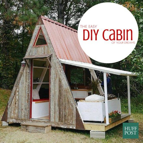 Ordinary Shed Homes Cost #10: U0027Damn Simpleu0027 Tiny House Costs Just $1,200 To Build Yourself. U0027