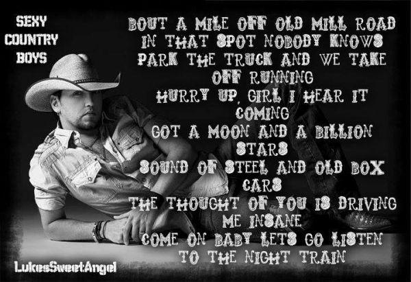 Jason Aldean Night Train Lyrics by LukesSweetAngel