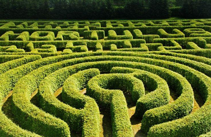 Thematischer Garten in Dobrzyca, Polen
