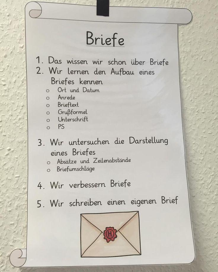 Briefe Dekorieren Instagram : Die besten brief schreiben grundschule ideen auf