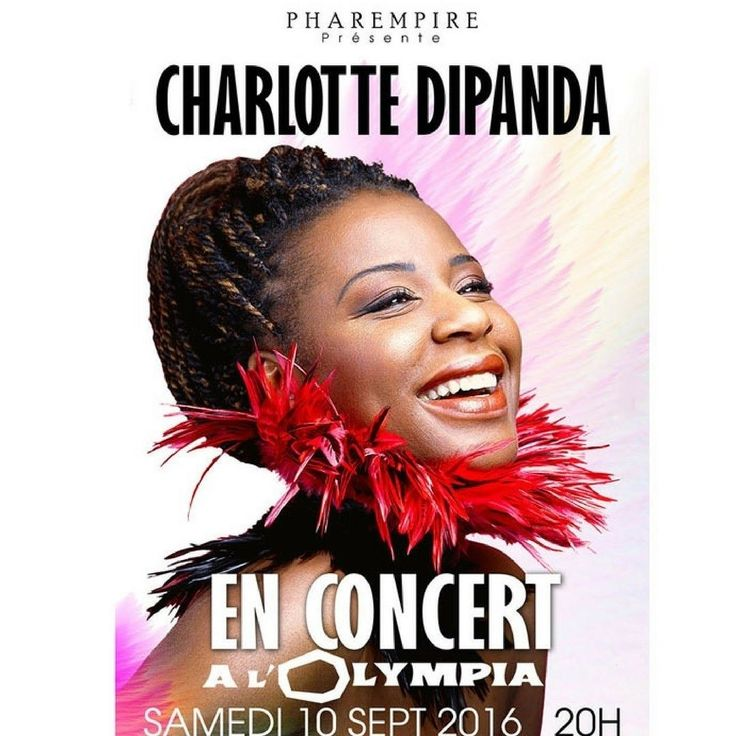 Book now for #charlottedipanda at l'Olympia in #paris on sept 10 2016 - a few seats left only! #artist #music #cameroon #cameroun #worldmusic #pop #world #africa @olympia_bruno_coquatrix