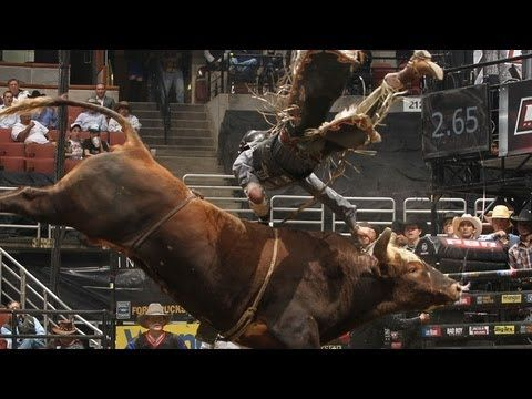 """And JB says """"WHAT THE HELL WAS THAT!!!?"""" WRECK: J.B. Mauney gets flipped off Bushwacker (PBR)"""