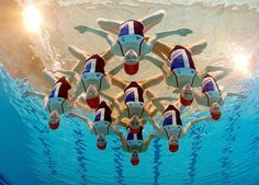 Great Britain. Olympic Team 2012. Synchronized swimming.