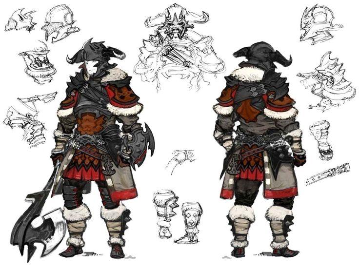 Warrior from Final Fantasy XIV: A Realm Reborn