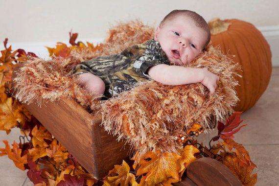 Autumn Newborn Fall Photography Prop Baby Blanket. by BabyBirdz, $65.00