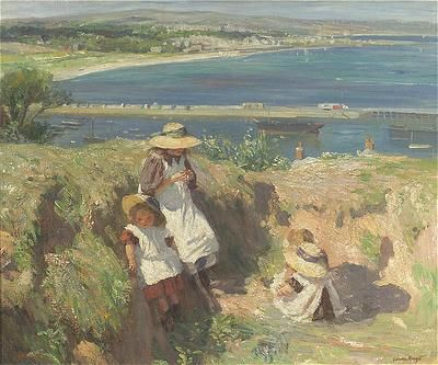 In The Sun by Laura Knight