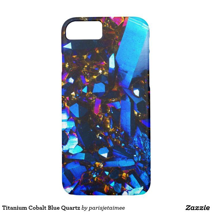 Titanium Cobalt Blue Quartz iPhone 7 Case