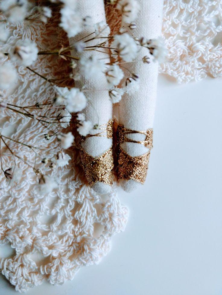 Working on new creation - beautiful golden sandals #handmade #handmadedolls #libertyfall