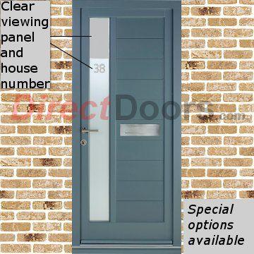 Dale High Performance Warwick Special Glazed Door \u0026 Frame Set - Fully Decorated & 41 best External Panel Doors images on Pinterest | Panel doors ... Pezcame.Com