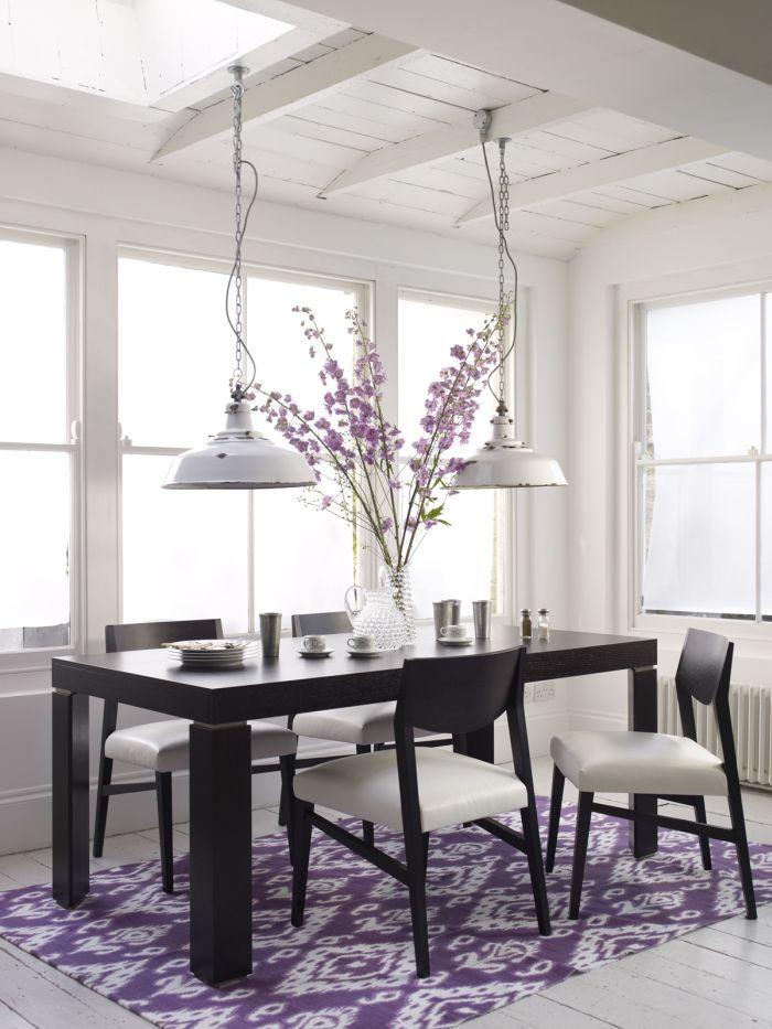 Lawendowe pole #wooden #table #diningroom #natuzzi #home #design