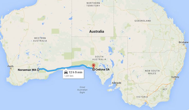Today we start driving across Australia's longest road, The Nullabor Plain, affectionately known by Aussies as the Nullar-boring. It runs from Norseman in Western Australia to Ceduna in South Australia, 1,201km and includes the longest straight section of road without a turn in the world at 146km