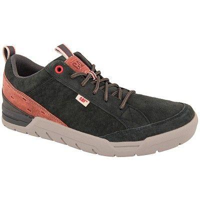 Ανδρικά παπούτσια casual CATERPILLAR P721153 σε μπλέ χρώμα κατασκευασμένα από γνήσιο δέρμα καστόρι.