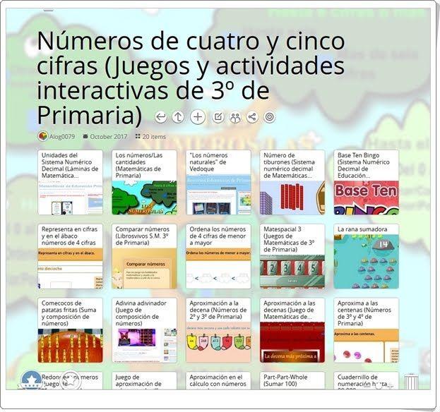 20 Juegos Y Actividades Interactivas Para Trabajar Los Números De Cuatro Y Cinco Cifras Actividades Interactivas Actividades De Matematicas Nivel De Educación