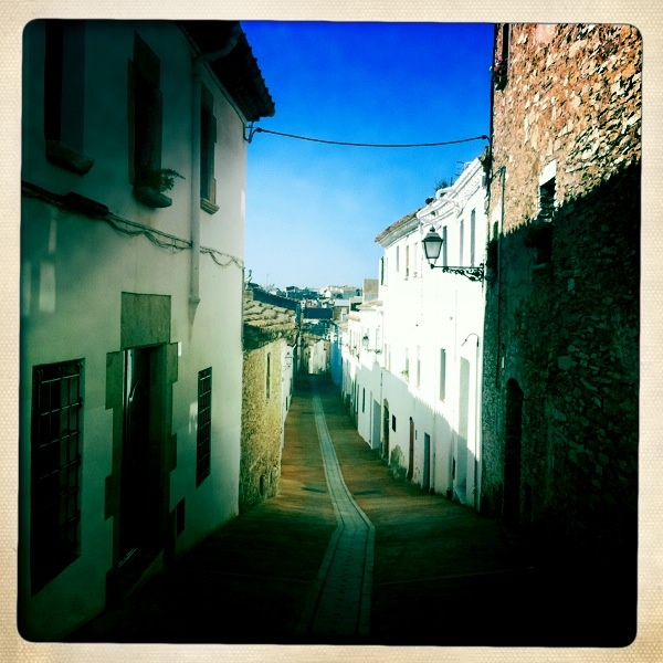 Street in Begur, Spain