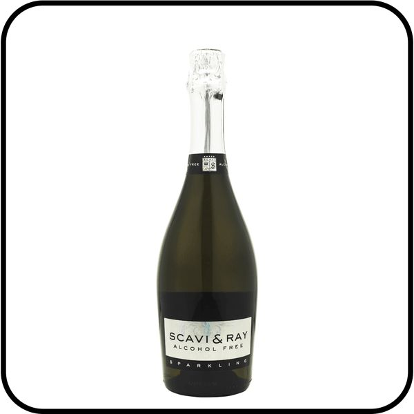Celebrate with Scavi & Ray Alcohol Free Prosecco. Fresh nose and fruity tang. Buy online for Christmas from trusted shop Dry Drinker.