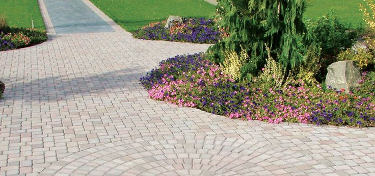 60 best images about driveway designs and ideas on - Circular flower bed designs ...