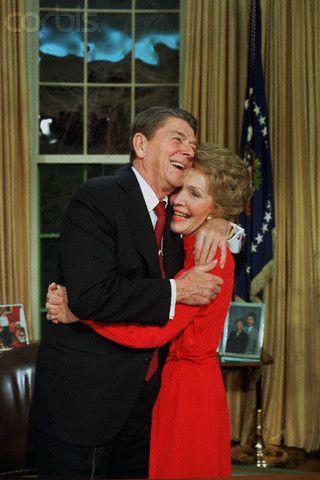 President and Nancy Reagan, January 29, 1984
