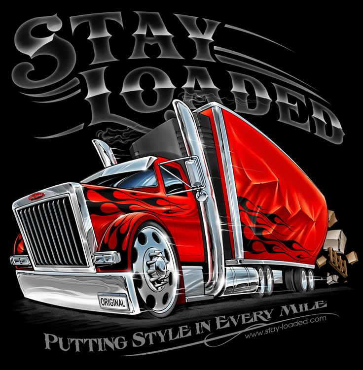 Original Stay Loaded Apparel illustration Pinterest
