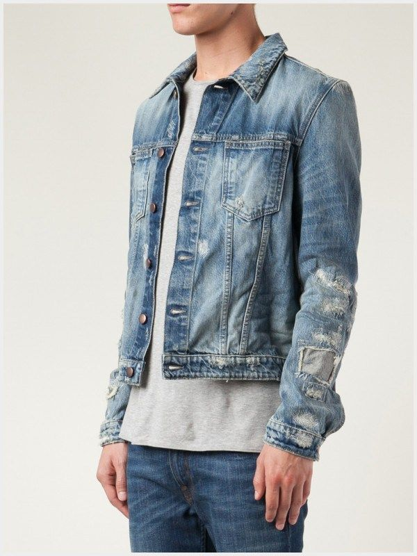 66367dae819 10 Contemporary Distressed Denim Jacket Men