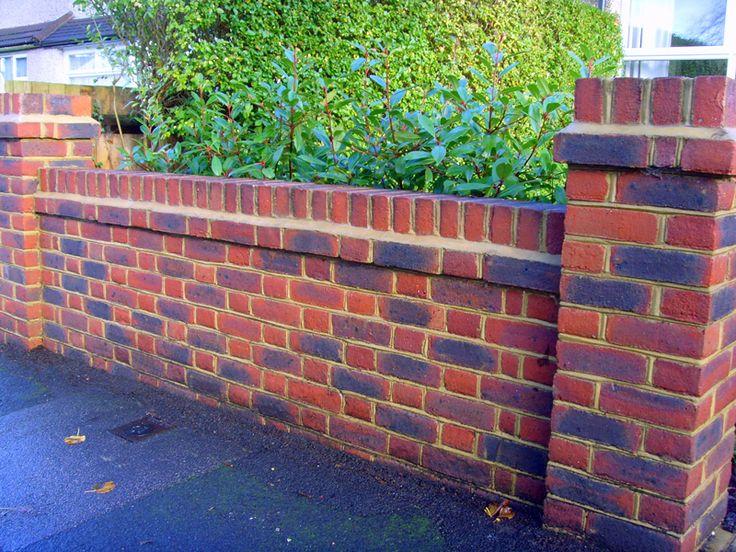 Front Garden Wall | Front Garden | Pinterest | South London, Brickwork And  Surrey