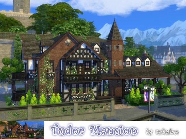 Sims 4 CC's - The Best: Houses by Leetoku
