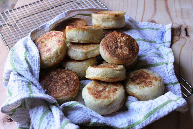 Homemade Crumpets Recipe
