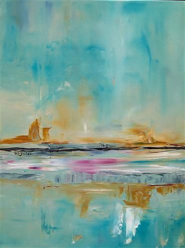 Echo Mist 1 by Barbara Dudding | oil painting | Ugallery Online Art Gallery, what talent! Just like looking at this. Oh to have this type of art all through my home. Must save money!