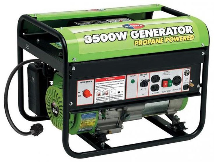 All Power 6.5 Hp 3500W Propane Powered Portable Generator APG3535CN,    #All Power Generators