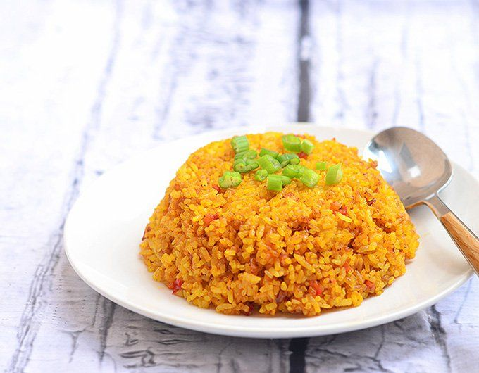 Java Rice. Yummy, something different from regular rice.