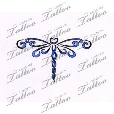 Marketplace Tattoo dragonfly #7739 | CreateMyTattoo.com