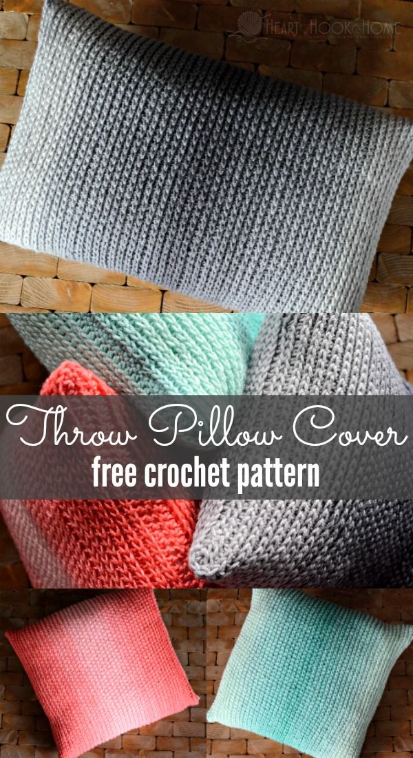 Throw Pillow Cover Free Crochet Pattern Crochet Pillow Patterns Free Pillow Cover Crochet Pattern Crochet Cushion Cover