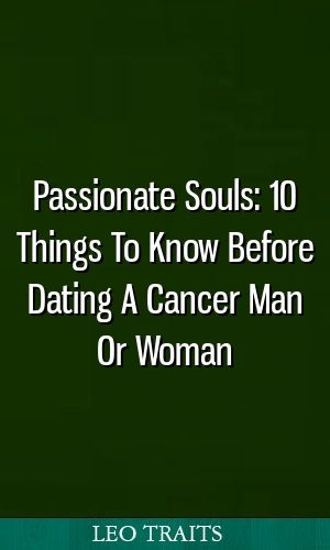 virgo woman dating cancer man