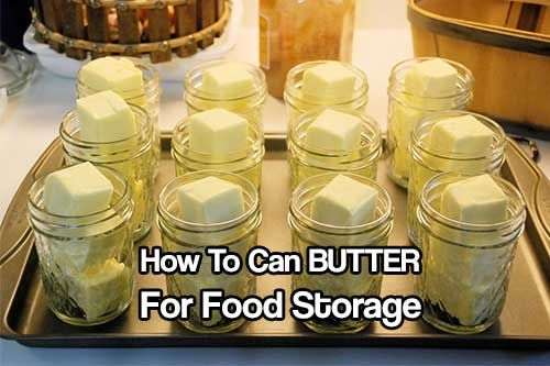 How To Can BUTTER For Food Storage. Canning butter can be very rewarding. Buy cheap, can now enjoy later when the prices are higher.