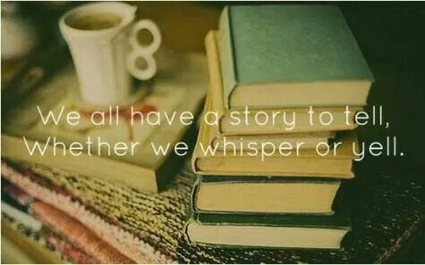 Speak your story xxx