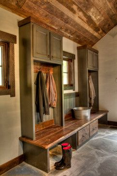 devils lake rustic entry minneapolis lands end development designers builders put in garage for a mud room style mud rooms design ideas - Rustic Design Ideas