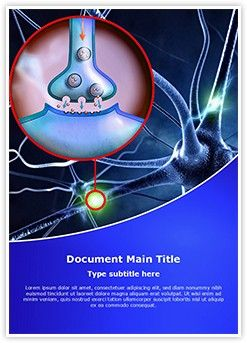 35 best healthcare and medical word document templates images on neuron synapse ms word template is one of the best ms word templates by editabletemplates toneelgroepblik Gallery