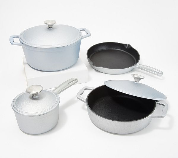 Cook S Essentials 7 Pc Cast Iron Elite
