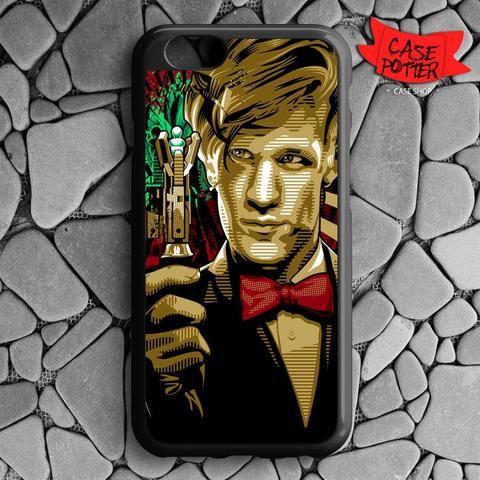 Doctor Who Matt Smith iPhone 6 iPhone 6S Black Case