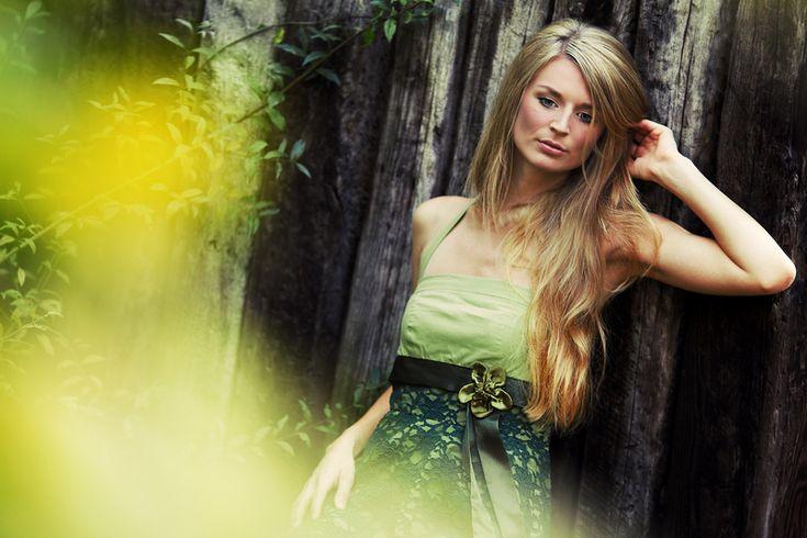 Abendkleider - MAGGIE _ Kleid mit Spitze - ein Designerstück von three-quarters bei DaWanda