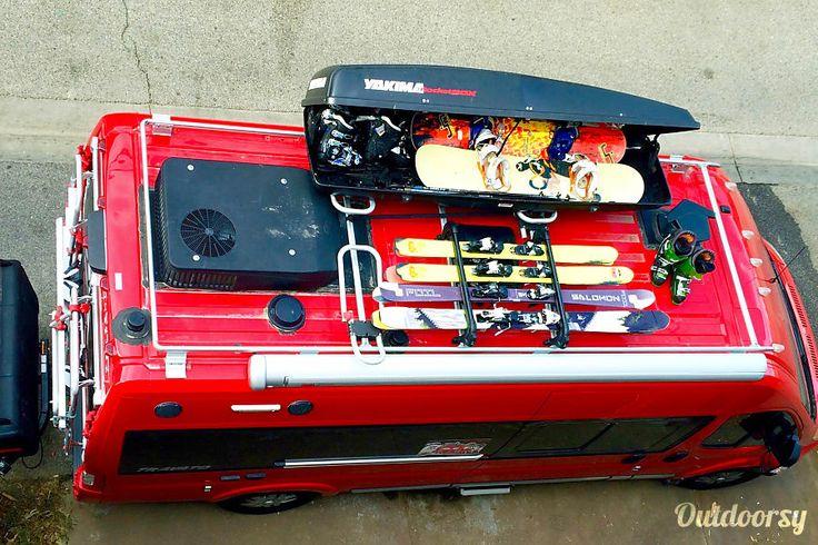 2015 winnebago travato motor home class b rental in los