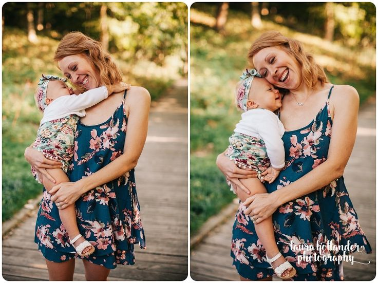 One Year photos with Blaire~ Rockford, MI -Laura Hollander Photography, mommy and me- one year milestone