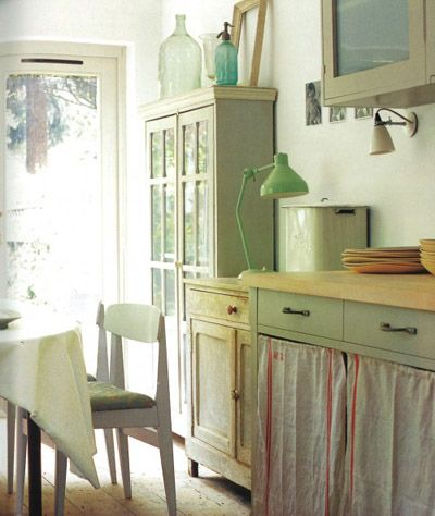 1000 images about french country cottage red on pinterest for French country green kitchen