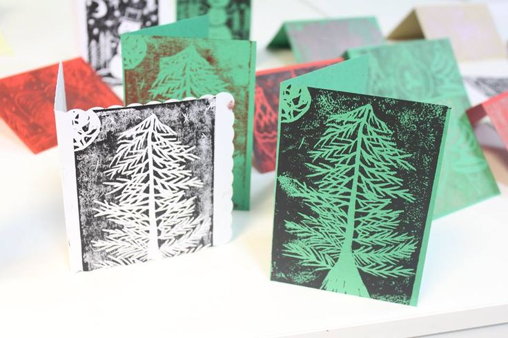 Festive Lino Printing at S2R Create Space