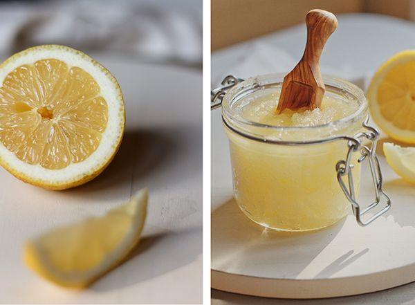 Luxurious Lemon Sugar Body Scrub